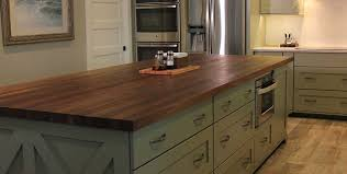kitchen design alluring countertop options butcher block island