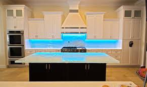 Led Backsplashes Glass Backsplashes By Downing Designs We Create Large Scale
