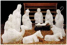 nativity outdoor white outdoor nativity set sets by general foam