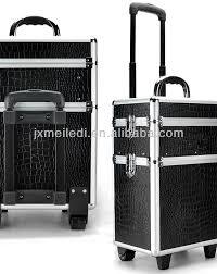 Vanity Box Makeup Artistry Mld Tc158 Aluminium Makeup Case Leather Case Trolley Flight Box