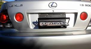 porta targa auto portatarga rotante per automobile dbshopping consigli guide