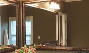 Custom Bathroom Mirror Custom Diy Bathroom Mirror Frame Kits