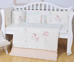 White Nursery Bedding Sets 100 Cotton Baby Bedding Set White Crib Bedding Set White