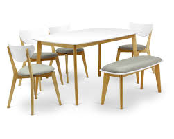 dining table set with bench bench decoration