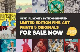 monty python shop