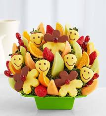 send fruit bouquet sending smiles your way by fruit bouquets the dessert stand