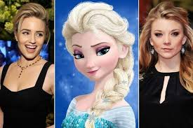 play live action versions elsa anna