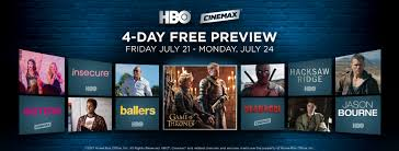 hbo max 4 day free preview july 21 24 entouch