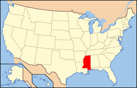 Map Of The Southern States by Mississippi In The American Civil War Wikipedia
