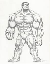drawn hulk pencil drawing pencil color drawn hulk pencil