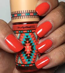 mac summer 2016 vibe tribe collection blazing the polished