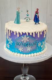 frozen birthday cake u2013 mmc bakes