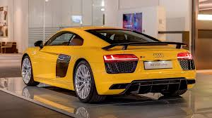audi r8 price 2017 audi r8 spyder on display