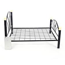 amazon com pawz road metal frame pet bed for small and medium