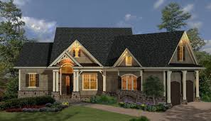 home design one story craftsman house plans style medium