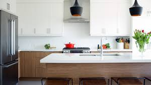 Interior Design In Kitchen Interior Design U2013 A White Eat In Kitchen With Warm Wood Accents