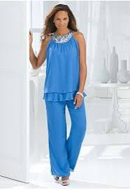 dressy pant suits for weddings three pieces of suits plus size modest chiffon