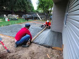 patio heater on sale pour concrete slab great patio furniture sale on pouring concrete