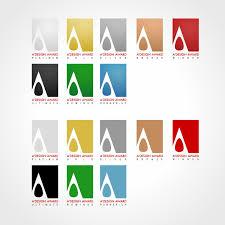 design award winning logo design a design award and competition award logo and