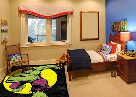 Superhero Rug Kids Bedroom Rugs Home Design Ideas Answersland Com