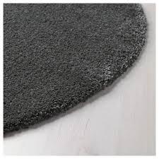 Grey Round Rug ådum Rug High Pile 4 U0027 3