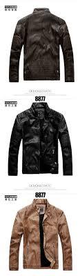 new leather jacket men jaqueta de couro masculina winter mens