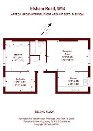 75 Sqm To Sqft by 2 Bedroom Elsham Road London W14 Property For Sale Marsh U0026 Parsons