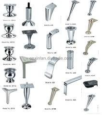 metal furniture legs and feet interior design