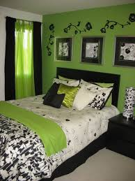 Dark Green Room Bedroom Contempo Teenage Lime Green Bedroom Decoration Using Large