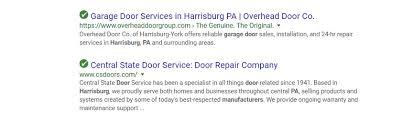Overhead Door Harrisburg Pa Search Engine Optimization Seo For Garage Door Companies