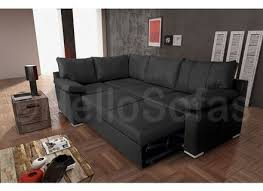 corner leather sofa bed with storage revistapachecocom alley cat