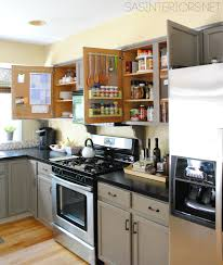 Kitchen Cabinets Design Pictures Kitchen Organization Ideas For The Inside Of The Cabinet Doors