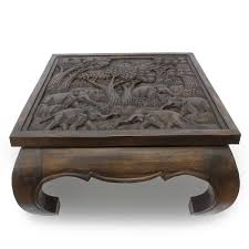 Wohnzimmertisch Beine Wohnzimmertisch Couchtisch Opiumtisch Glastisch Massiv Holz