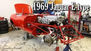 1969 jaguar e type roadster update manns restoration youtube