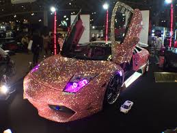 pink glitter car going to work in my new car the something awful forums