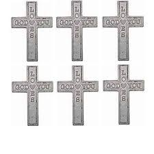 pocket crosses pocket cross god you silver metal 1 3 4
