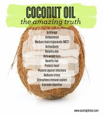 Saving Dinner by Coconut Oil The Amazing Truth Saving Dinner