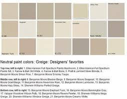 benjamin moore paint color schemes neutral paint colors greige