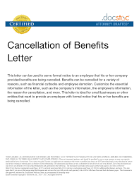Landscape Contract Cancellation Letter Membership Assistant Cover Letter