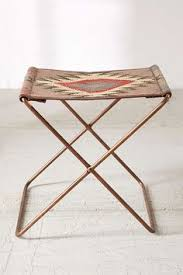 leather sling stool stools spaces and apartments