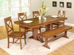 Bench Dining Room Sets Picture 3 Of 50 Bench For Dining Room Table Best Of Mission