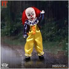 Pennywise Halloween Costume Mezco Living Dead Dolls 1990 Pennywise Mad Horror