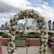 Wedding Arch Nyc Birch Arch With Custom Floral Decor Currently Available