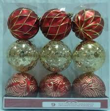 time gold shatterproof ornaments walmart canada