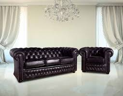 Black Leather Sofas Buy Chesterfield Furniture Leather Suite Designersofas4u