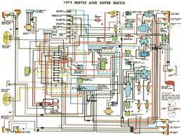 1972 vw super beetle wiring diagram 74 beetle wiring diagram