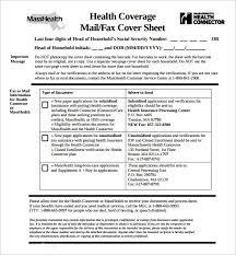 doc 585630 sample masshealth fax cover sheet u2013 sample masshealth