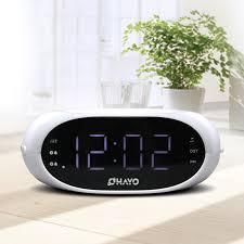 clock radio with night light leideng rt 4500 large screen radio led digital night light dual