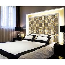 Gold Items Crystal Glass Mosaic Tile Wall Backsplashes Tiles - Sheet glass backsplash