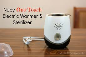 nuby one touch electric warmer u0026 sterilizer u2013 a dad u0027s best friend